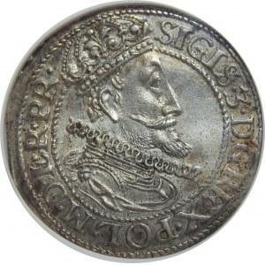 Zygmunt III Waza, Ort 1615, Gdańsk, NGC MS64
