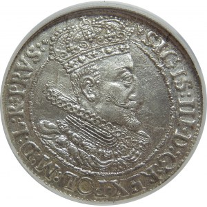 Zygmunt III Waza, Ort 1615, Gdańsk, NGC MS63