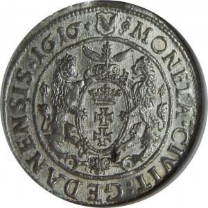 Zygmunt III Waza, Ort 1616, Gdańsk, NGC MS63