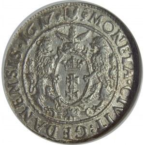 Zygmunt III Waza, Ort 1617, Gdańsk, NGC MS62