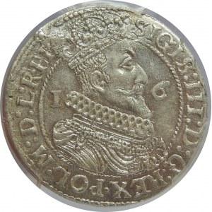 Zygmunt III Waza, Ort 1624/3, Gdańsk, PCGS MS62