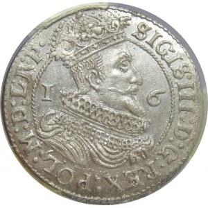Zygmunt III Waza, Ort 1625, Gdańsk, PCGS MS63