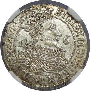 Zygmunt III Waza, Ort 1625, Gdańsk, NGC MS61