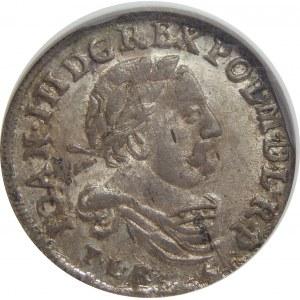 Jan III Sobieski, Szóstak 1682 , Bydgoszcz, NGC MS62