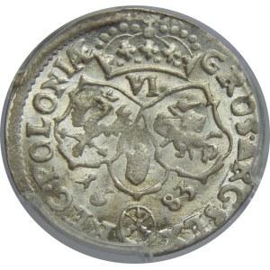 Jan III Sobieski, Szóstak 1683 , Bydgoszcz, PCGS MS64
