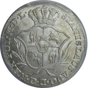 SAP, 2 grosze 1769 IS, Warszawa, PCGS MS63