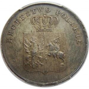 Powstanie Listopadowe, 5 złotych 1831, PCGS MS64