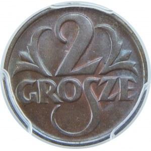 2 Grosze 1925 PCGS MS65 BN