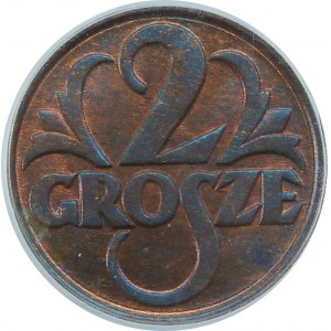 2 Grosze 1928 PCGS MS65 RB