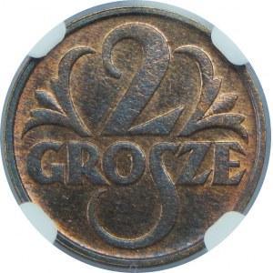 2 Grosze 1933 NGC MS64 RB
