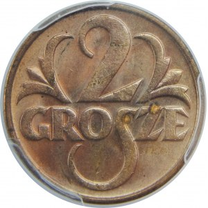 2 Grosze 1934 PCGS MS64 RD