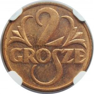 2 Grosze 1937 NGC MS64 RD