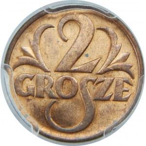 2 GROSZE 1938 PCGS MS64 RD