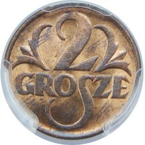 2 GROSZE 1938 PCGS MS64 RB