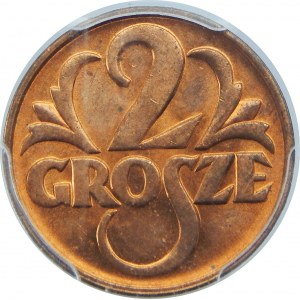 2 GROSZE 1939 PCGS MS64 RD