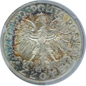 2 Złote Głowa Kobiety 1932 PCGS MS62