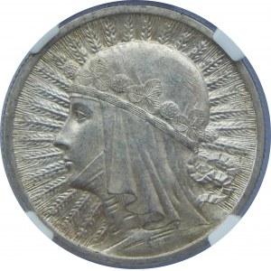 2 Złote Głowa Kobiety 1932 NGC MS63