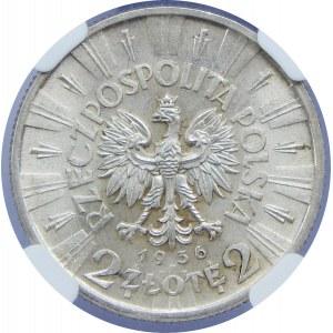 2 Złote Piłsudski 1936 NGC MS65