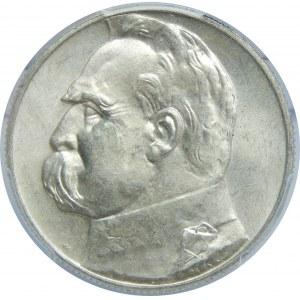 5 Złotych Piłsudski 1936 PCGS MS63+