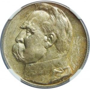5 Złotych Piłsudski 1936 NGC MS64