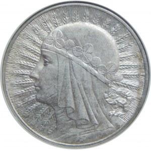 10 złotych Głowa Kobiety BZM 1932 NGC MS61