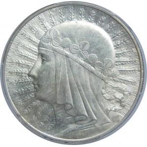 10 złotych Głowa Kobiety ZZM PCGS MS63