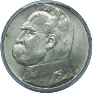 10 Złotych Piłsudski 1934 Strzelecki PCGS MS63