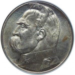 10 Złotych Piłsudski 1939 NGC MS62