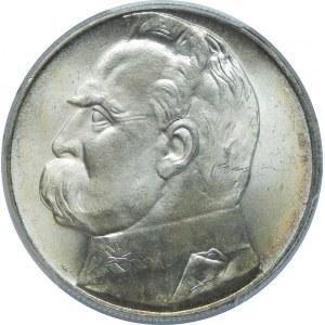 10 Złotych Piłsudski 1939 PCGS MS65+