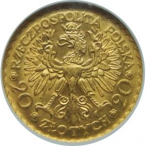 20 złotych Bolesław Chrobry 1925 NGC MS64