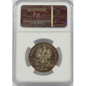 2 złote 1995 Sum NGC MS65
