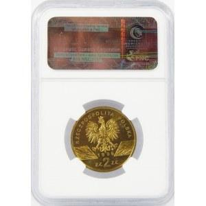 2 złote 1996 Jeże NGC MS65
