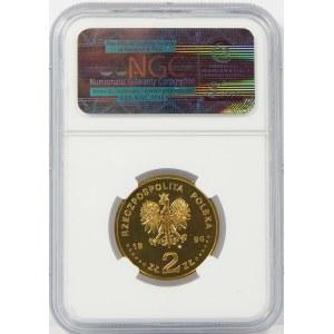 2 złote 1996 Henryk Sienkiewicz NGC MS66