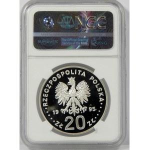20 złotych 1995 ECU Kopernik NGC PF69