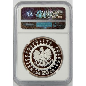 20 złotych 1995 Pałac Królewski w Łazienkach NGC PF69