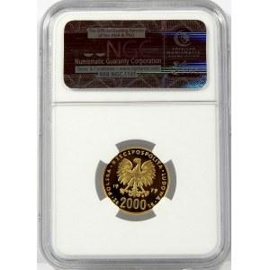 2000 złotych 1979 Mikołaj Kopernik NGC PF70