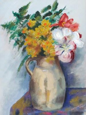 Abraham WEINBAUM (1890-1943), Kwiaty w wazonie, 1933