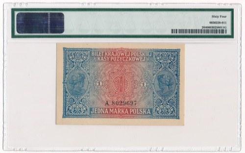 1 marka 1916 Jenerał -A- PMG 64