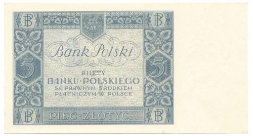 5 złotych 1930 Ser.BJ.