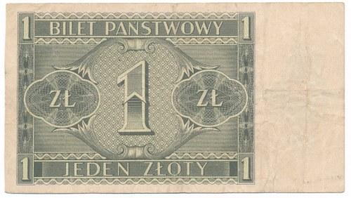 1 złoty 1938 -H- Chrobry
