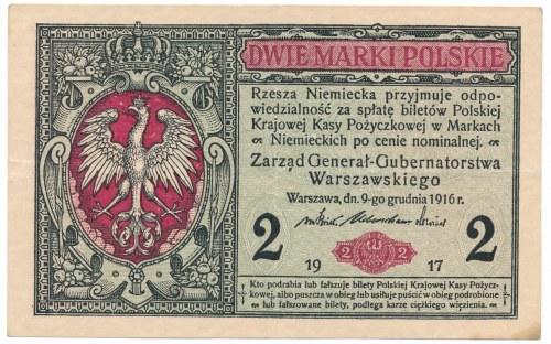 2 marki Generał 1916 -B-