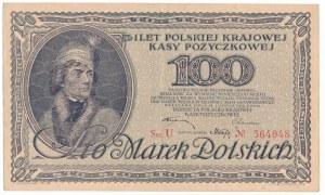 100 marek 1919 -U- niezły