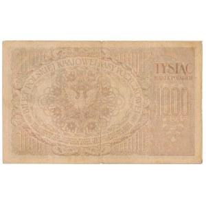1000 marek 1919 IA - najrzadsza odmiana