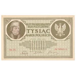 1000 marek 1919 Ser.ZL.