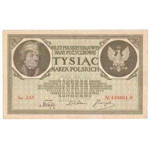 1000 marek 1919 Ser.ZAF.