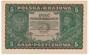 5 marek 1919 II Serja A - pierwsza,rzadka seria