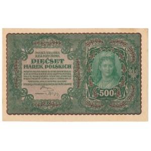 500 marek 1919 II Serja T