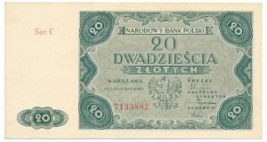 20 złotych 1947 -C-