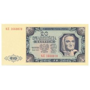 20 złotych 1948 KE