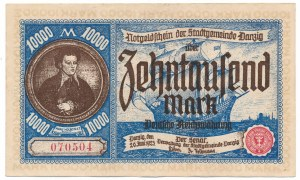 Gdańsk 10 000 marek 1923